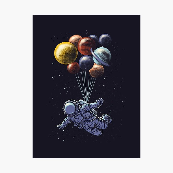 Space Travel Photographic Print