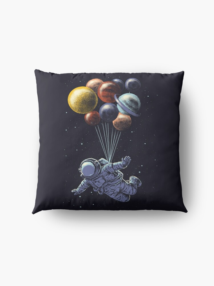 Alternate view of Space Travel Floor Pillow