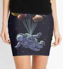 Space Travel Mini Skirt