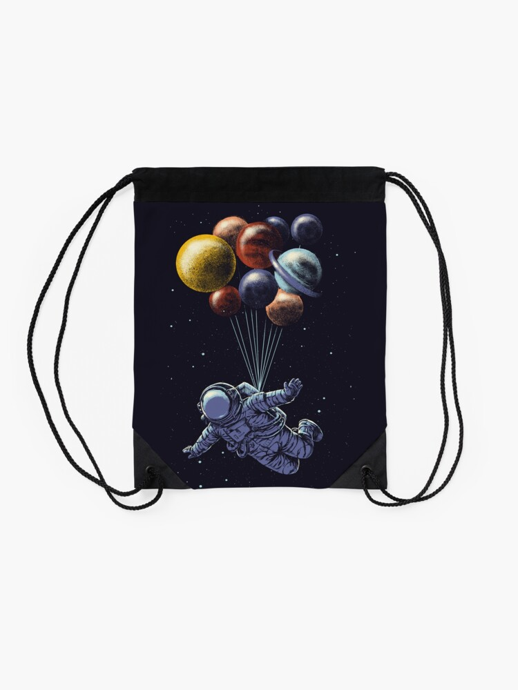 Alternate view of Space Travel Drawstring Bag