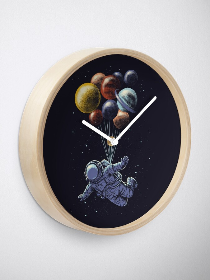 Alternate view of Space Travel Clock