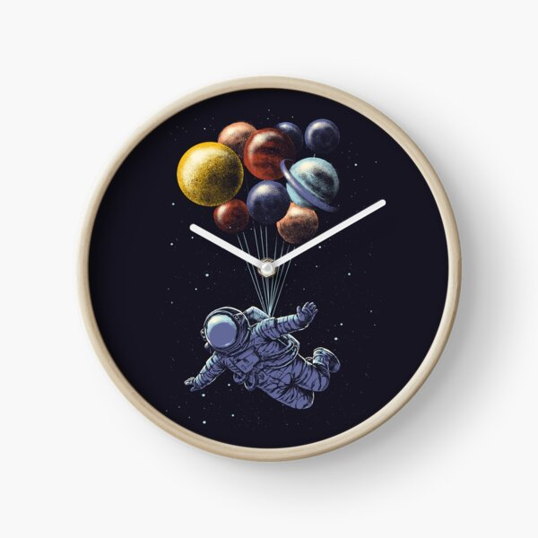 Space Travel Clock