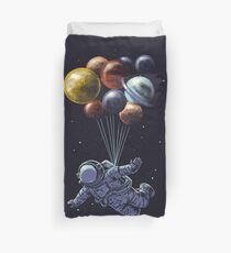 Space Travel Duvet Cover