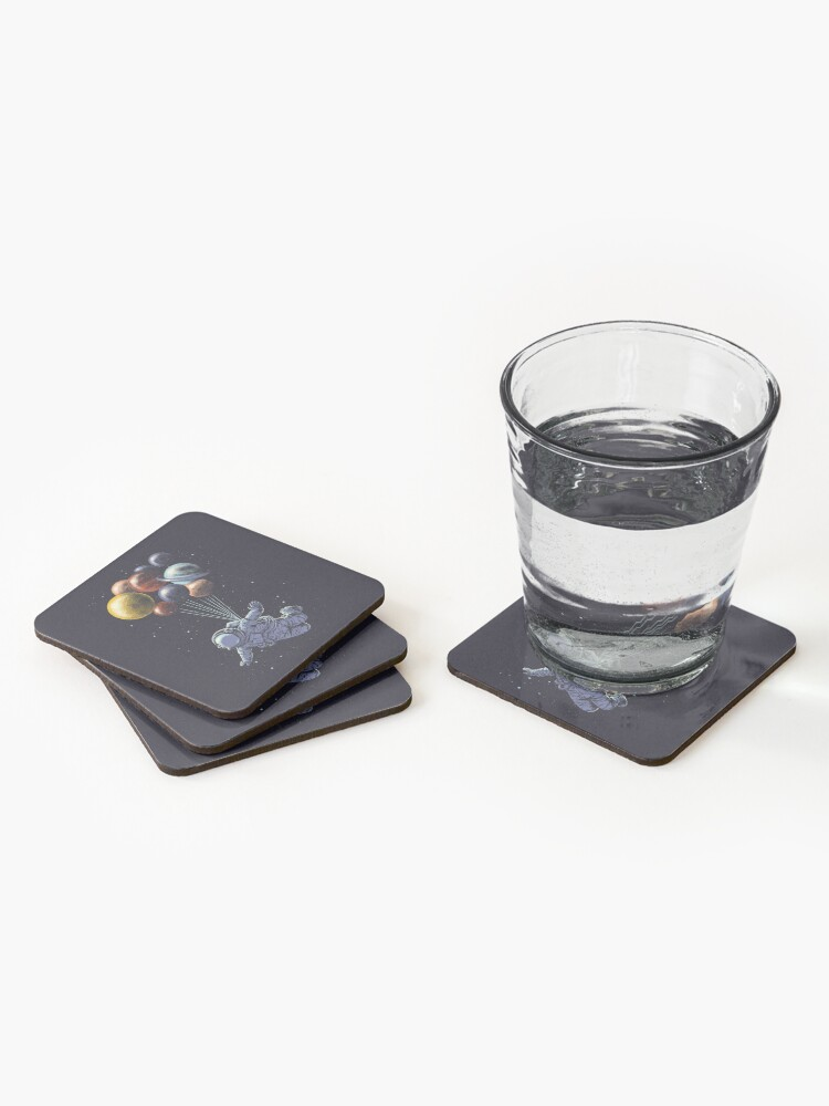 Alternate view of Space Travel Coasters (Set of 4)