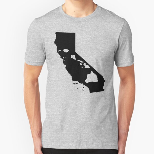 California and Hawai'i Roots by Hawaii Nei All Day Slim Fit T-Shirt