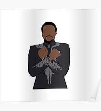 T'Challa Wakandan Salute Poster