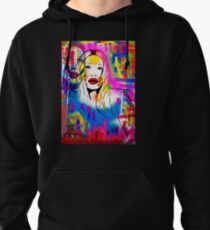 Pete Burns Collection Merchandise by Dusty O Pullover Hoodie