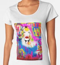 Pete Burns Collection Merchandise by Dusty O Women's Premium T-Shirt