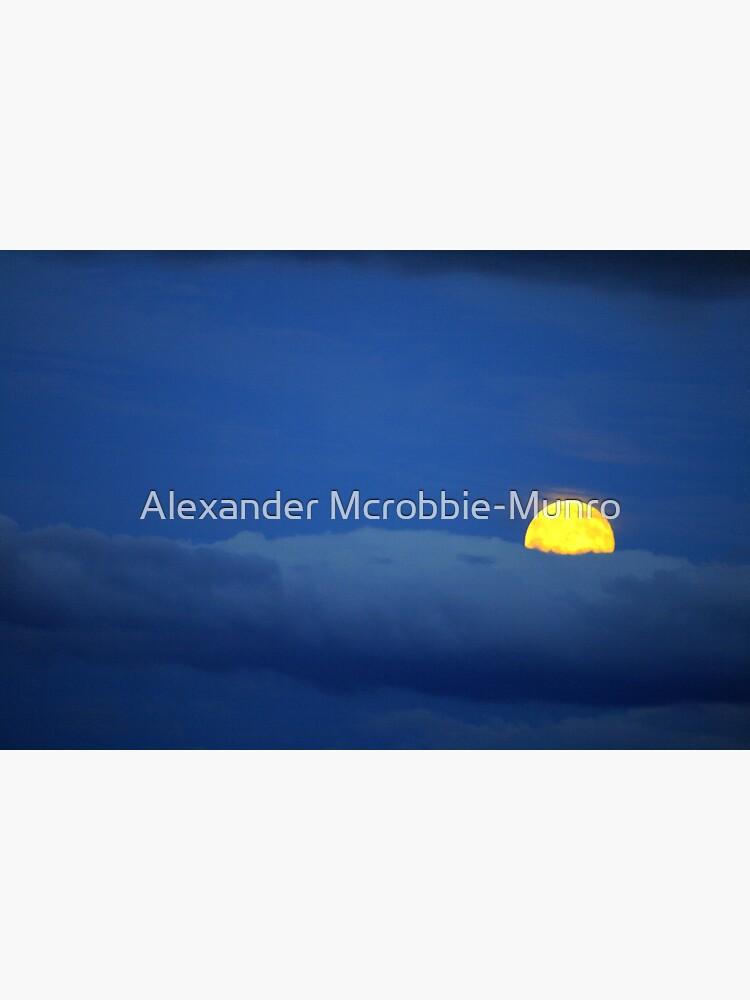 Yellow Moon by Alexanderargyll