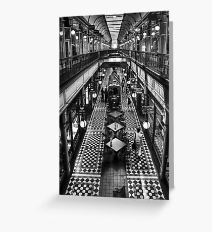 Adelaide Arcade Greeting Card