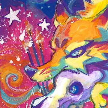 Lisa Frank Hell by Skulldog