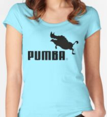 Pumba Women's Fitted Scoop T-Shirt