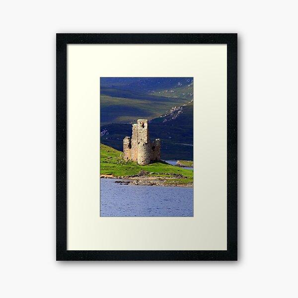 Ardvreck Castle Framed Art Print