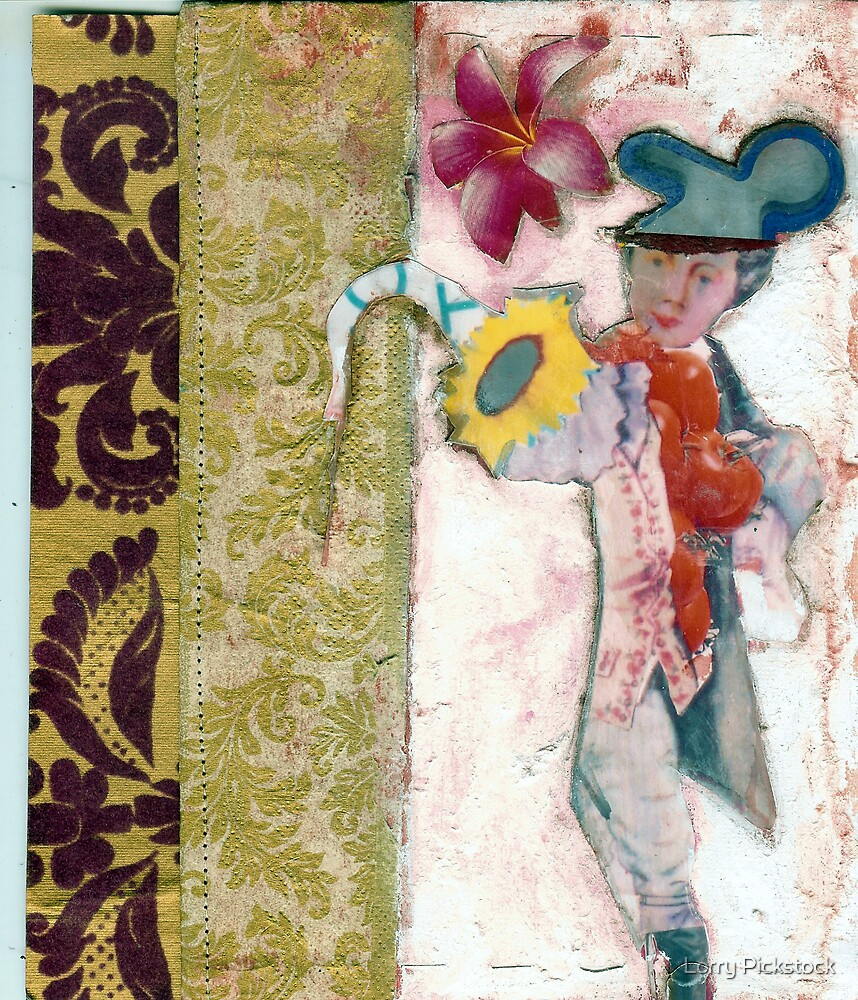 Baroque Mickey Mouse, artists books by Lorry666
