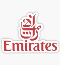 Emirates Logo Sticker