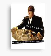 The Butler Wadsworth  Canvas Print