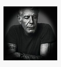 Anthony Bourdain Photographic Print