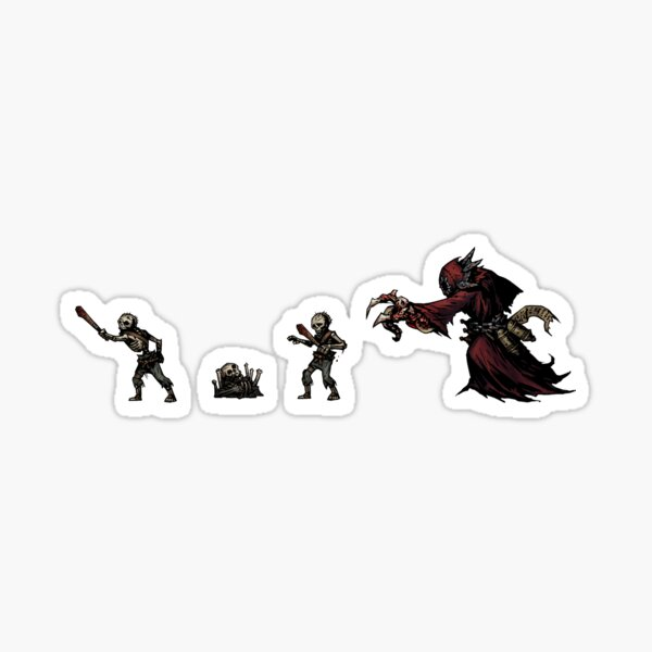 Nécromancien Sticker Darkest Dungeon Sticker
