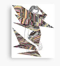 Origami Girl Canvas Print