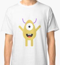 Vector cute monster  Classic T-Shirt