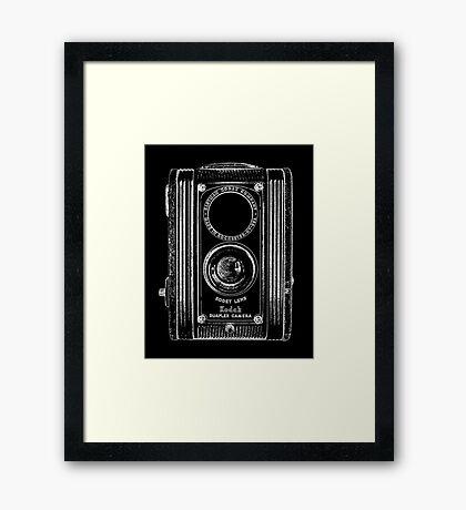 Kodak Duoflex with White Outline Framed Print