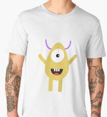 Vector cute monster  Men's Premium T-Shirt