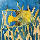 fish beach sealife art by derekmccrea