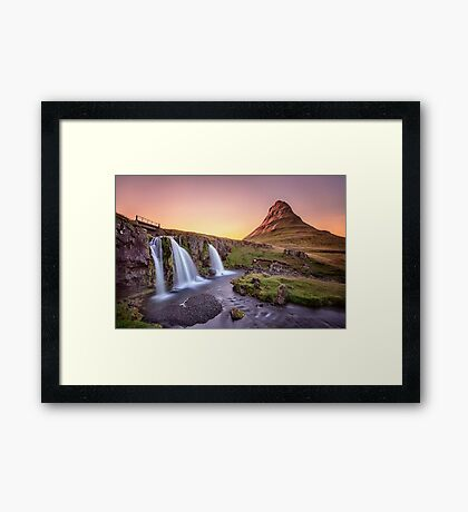 Short Summernights Of Eternal Twilight Framed Print