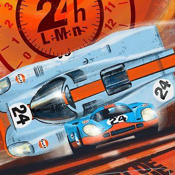 24H Le Manes Porsche 917 by SFDesignstudio
