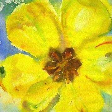 Yellow Tulip by BAR-ART