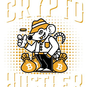 Bitcoin Crypto Hustler Sweatshirt Cryptocurrency Coins Investor by trndsttrz