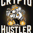 Bitcoin Crypto Hustler Sweatshirt Cryptocurrency Coins Investor by trndsttrz