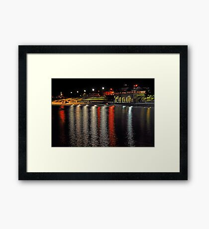 Cottesloe Beach At Night  Framed Print