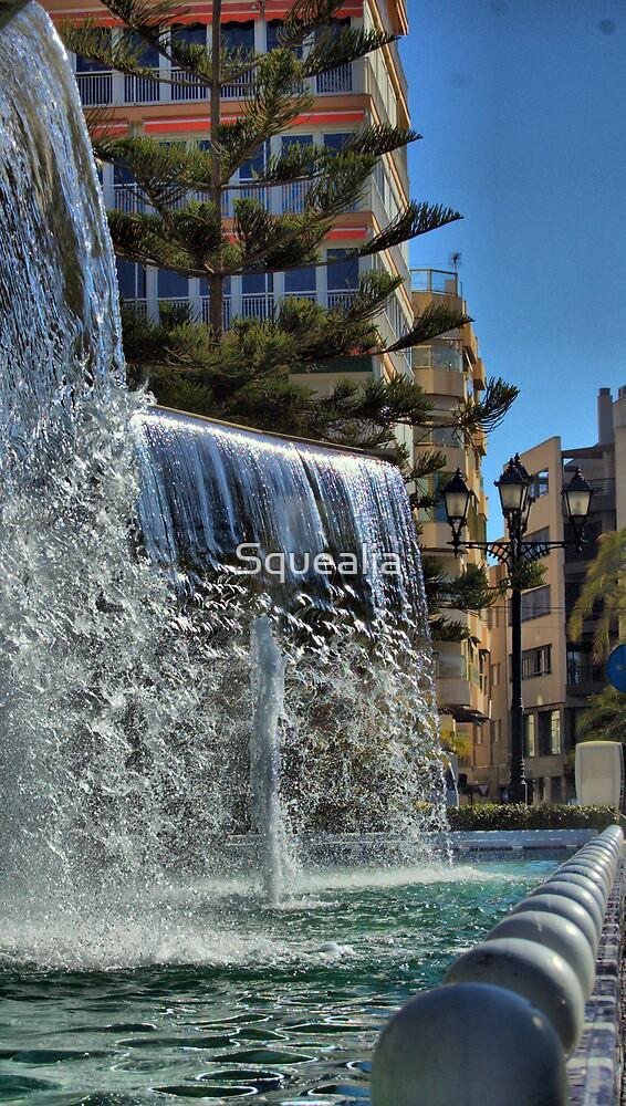 Fountain, Torrevieja, Costa Blanca, Spain by Squealia