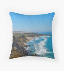 Pacific Coastal Highway - California Throw Pillow