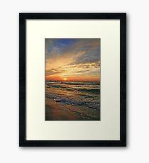 Gulf of Mexico Seascape Framed Print