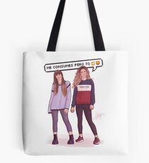 Miriam and Aitana - OT 2017 Tote Bag
