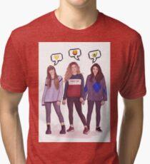 Girls trio - OT 2017 Tri-blend T-Shirt