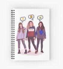 Girls trio - OT 2017 Spiral Notebook