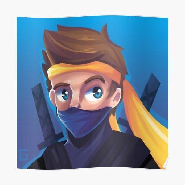 Ninja Poster Fortnite Twitch Tyler Blevins Poster