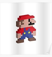 0000004 - 3D 8 Bit Mario Poster