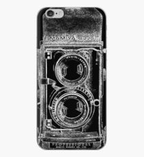 Mamiya C220 with White Outline iPhone Case