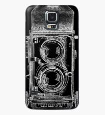 Mamiya C220 with White Outline Case/Skin for Samsung Galaxy