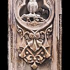 Stone Carving at Bethesda Terrace in Central Park. by Alex Preiss