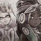 Pearl + Marina (Biggie & Tupac tribute) BWish by Dice9633
