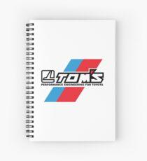 Cuaderno de espiral TOMS TRD Racing