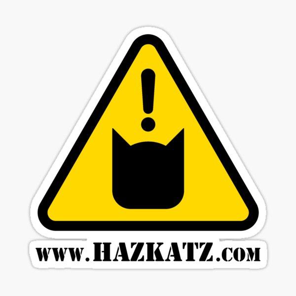 """Hazkatz """"Hazkatz Logo"""" Sticker"""