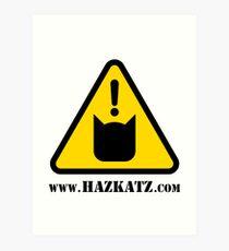 "Hazkatz ""Hazkatz Logo"" Art Print"
