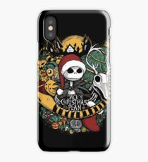Jack's Christmas Plan iPhone Case