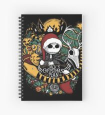 Jack's Christmas Plan Spiral Notebook